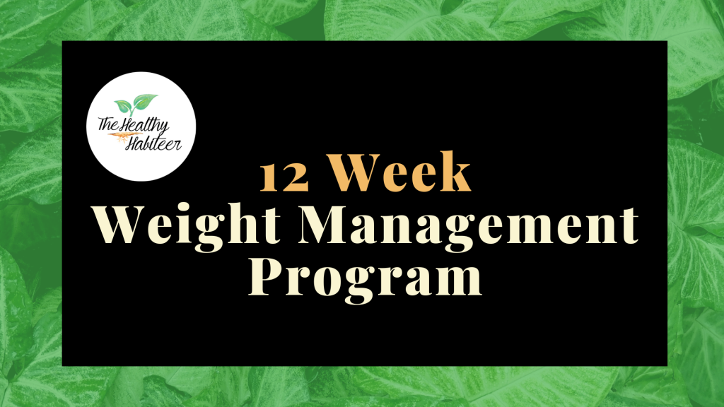 12 week weight management program